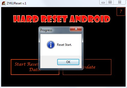 Tech 4U Force Factory Reset